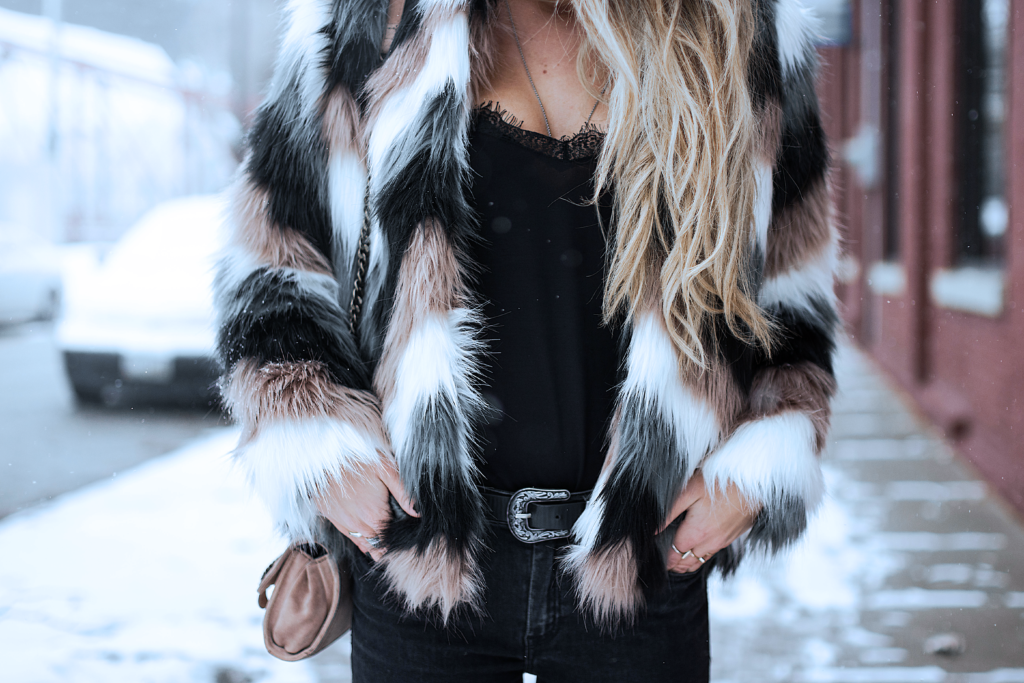 ALL BLACK EVERYTHING & FAUX FUR