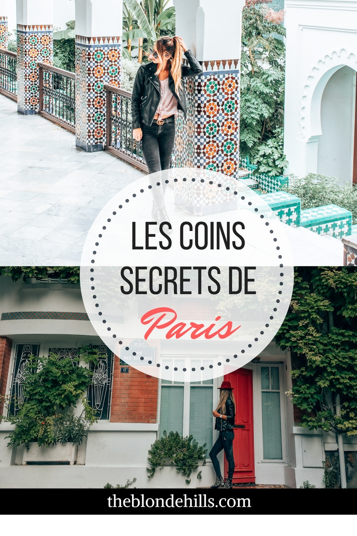 Les coins secrets de Paris