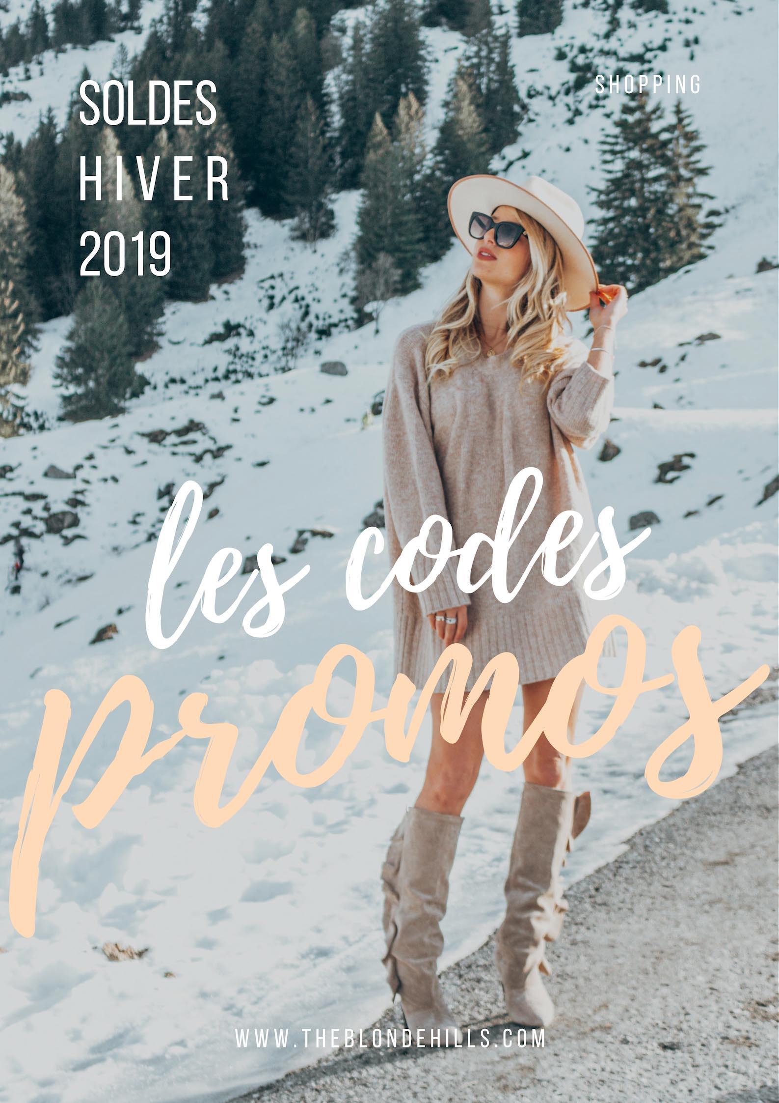 Soldes 2019 : les codes promos !