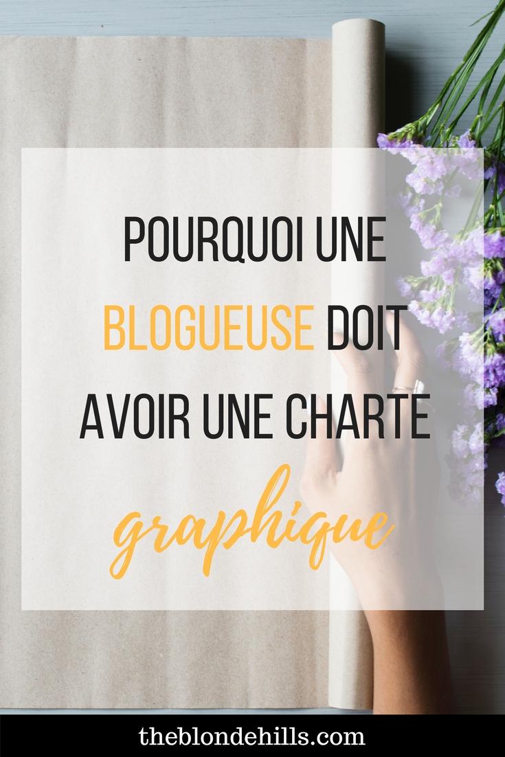 Pourquoi une blogueuse doit avoir une charte graphique (1)
